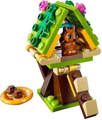 Lego Friends Squirrel S Tree House 41017